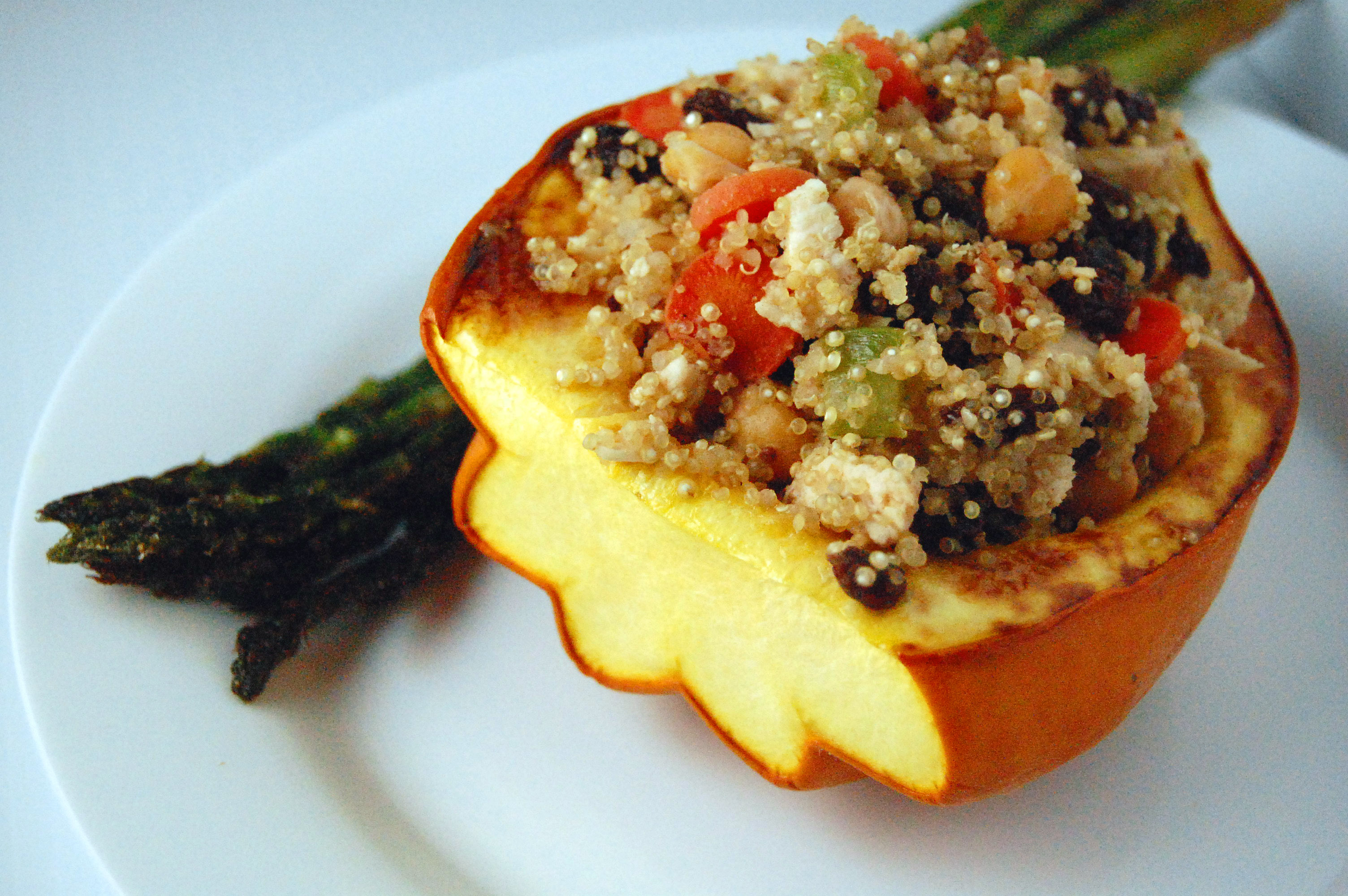 Moroccan Stuffed Acorn Squash – Savour the Senses