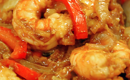 Throwback Thursday: Sweet & Sour Shrimp Stir-Fry