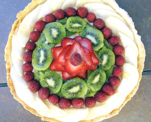 Fruity Vanilla Creme Tart