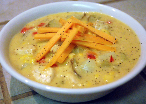 Throwback Thursday: Green Chile Chicken Corn Chowder
