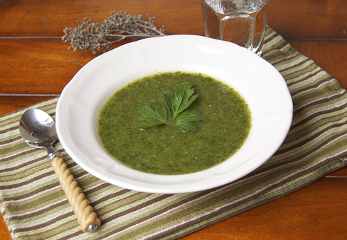 Detox Green Machine Soup