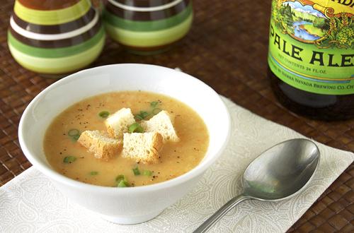 Cheddar Ale Soup – Savour the Senses