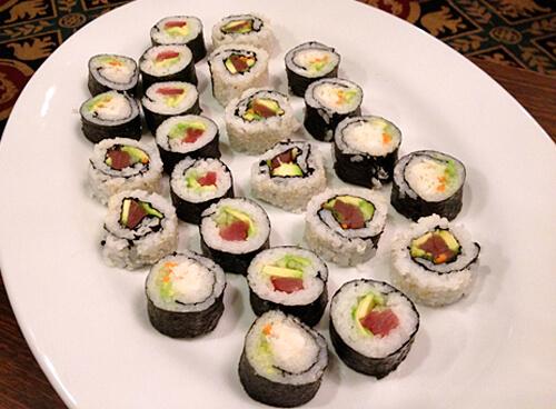 Sushi-Rolls