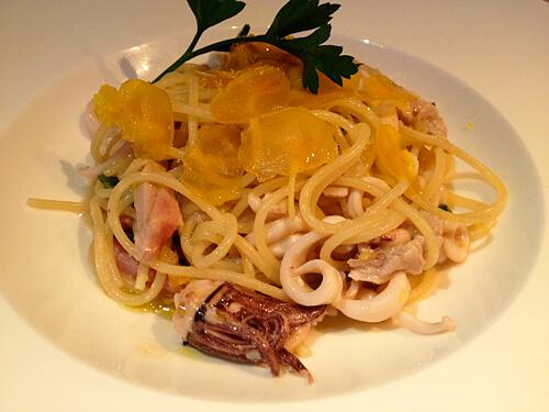 Calamari-Spaghetti