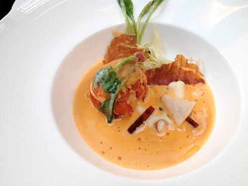 Lobster-Kohlrabi-Puree