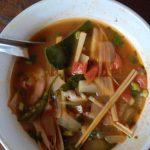 Shrimp Tom Yam Soup {Tom Yam Kung}