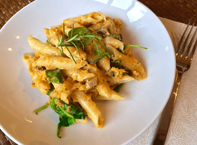 Butternut Penne Plated