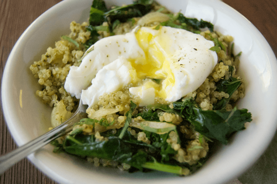 Kale-Pesto-Qunoa-Egg-Runny