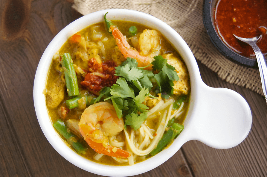 Malaysian Curry Laska Bowl
