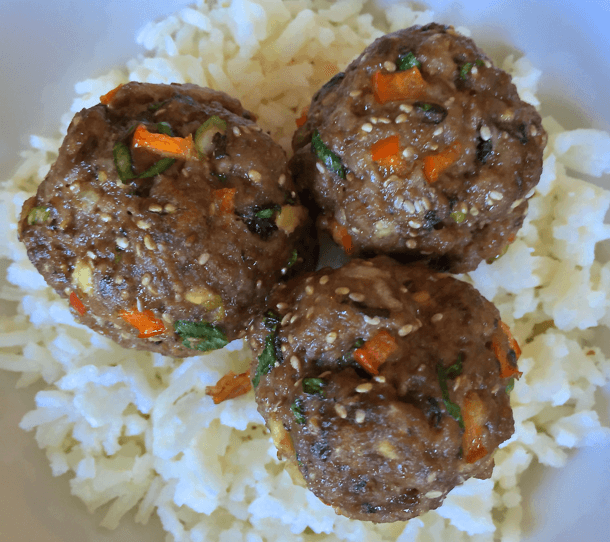 Easy Thai Quinoa Meatballs