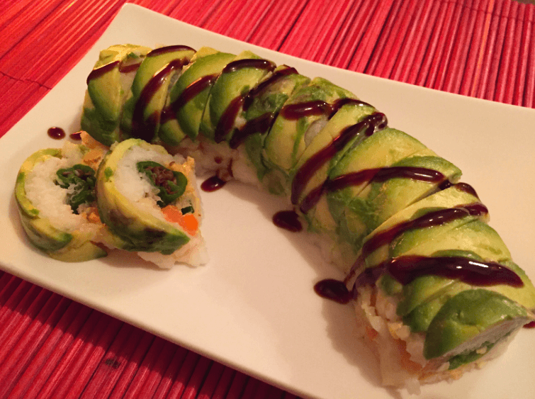 tempura-shishito-salmon-sushi