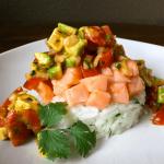 Cholula Salmon Ceviche